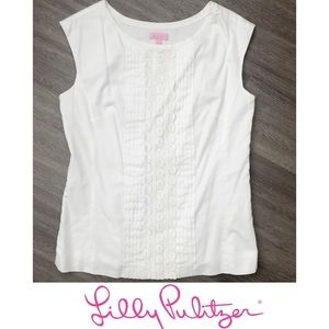Lilly Pulitzer Ultra White Top